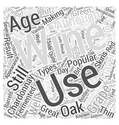 An introduction to chardonnay word cloud concept vector