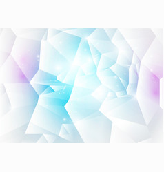 Blue and pink abstract low polygonal background vector