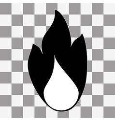 Fire Icon vector image