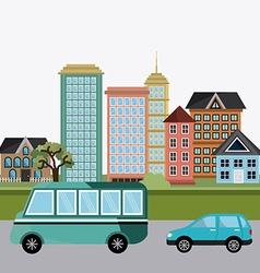 Transport digital design vector