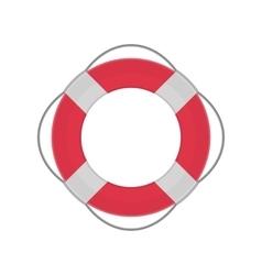 Ring lifebuoy vector image