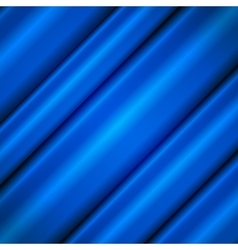 Blue silk waves vector image