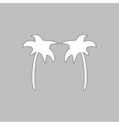palms computer symbol vector image