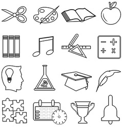 Business productivity icons set vector