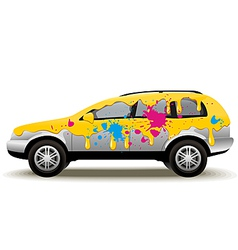Car Painting vector image