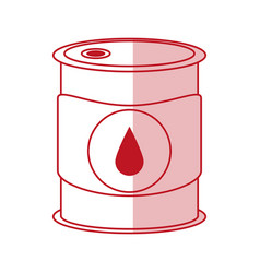 Oil barrel design vector