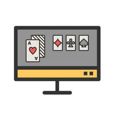 Online gambling vector