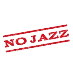 No jazz watermark stamp vector