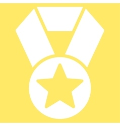 Champion medal icon from Competition Success vector image