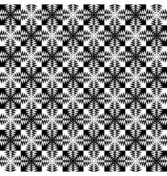 Design seamless monochrome patter vector