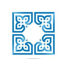Logo Design Element Company Letter Symbol Plant vector image