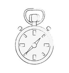 navigation compass symbol vector image