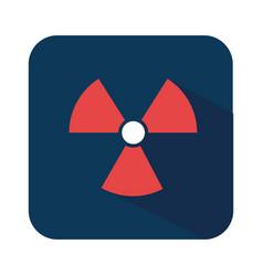 biohazard symbol alert icon vector image