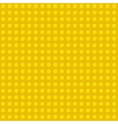 Yellow Seamless Background of Plastic Construction vector image