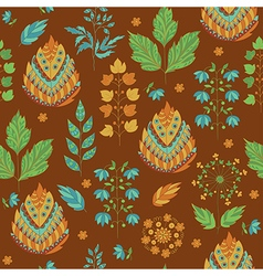 Abstract Autumn Seamless Pattern vector image