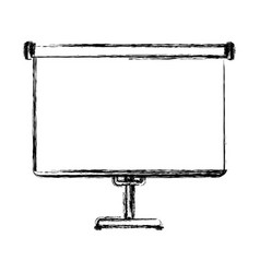 Screen projection blank vector