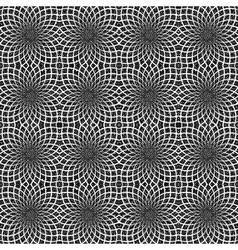 Design seamless decorative flower pattern vector image vector image