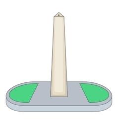 Obelisco of buenos aires argentina icon vector