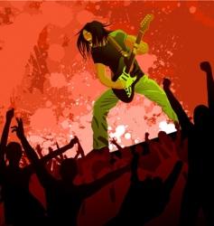 rocker vector image