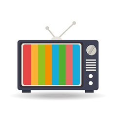 TV design vector image