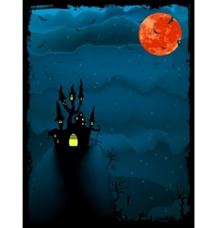 Halloween spooky time vector