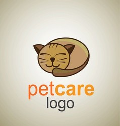 Pet care logo 9 vector