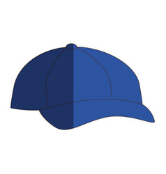 sport cap isolated icon vector image vector image