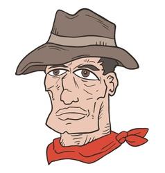 Western man vector