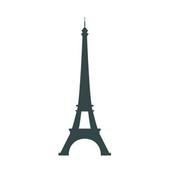 Paris france eiffel tower icon isolated vector