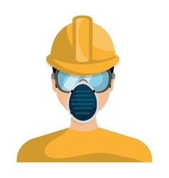 Industrial security equipment isolated icon vector