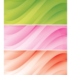 abstract light backgrounds - headers vector image