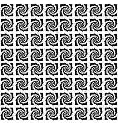 Design seamless monochrome pattern vector image vector image