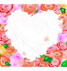 pink valentine vector image vector image