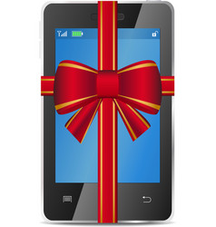 Mobile gift vector