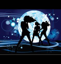 dancing design vector image