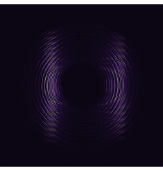 Purple glowing rings eps10 abstract background vector