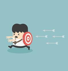 target victim Business vector image