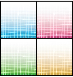 Gradient white stripe grid pattern vector