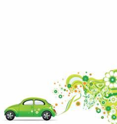Environmental car vector
