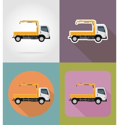 Transport flat icons 28 vector