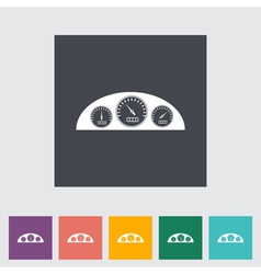 Icon dashboard vector