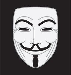 Guyfawkes mask vector
