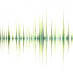alpha beat green vector image