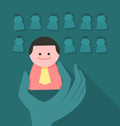 Human resources concept vector