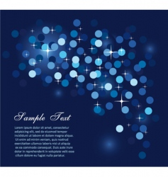Glitter lights for flyers background vector