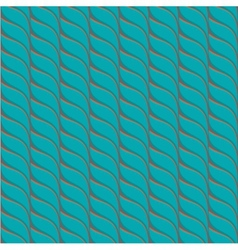 Turquoise and brown seamless pattern vector