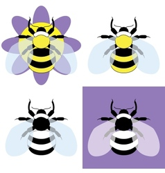 A bumble bee vector