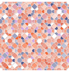 Colorful Seamless Mosaic Pattern vector image