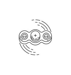 Hand spinner vector