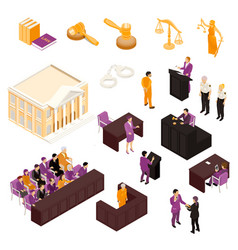 Law set isometric vector